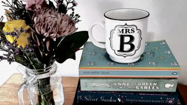 A Tea Break with Mrs B: Maya Linnell