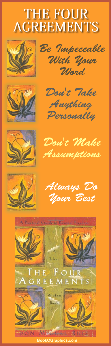 The Four Agreements BookOGraphic